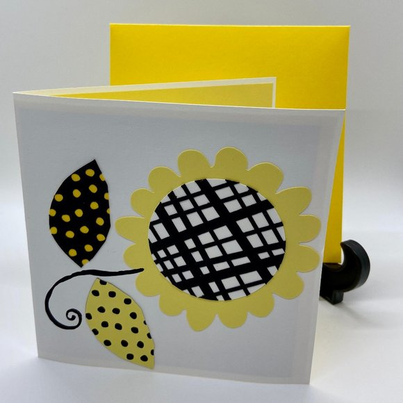 Handmade Spring Flower any Occasion Card